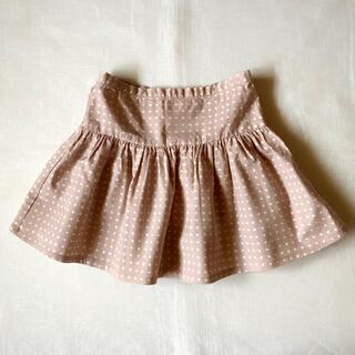 ボンポワン(Bonpoint)のJe suis en CP! くすみピンク スカート 3y 95 90 フランス(スカート)