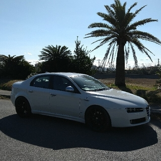 アルファロメオ(Alfa Romeo)のアルファロメオ159 JTS Q4Qトロニック TI 2009年式 走行4万6千(その他)