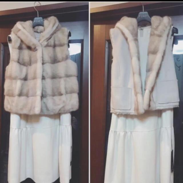 FOXEY(フォクシー)のフォクシーミンクベスト レディースのジャケット/アウター(毛皮/ファーコート)の商品写真