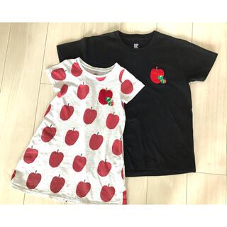 Design Tshirts Store graniph - グラニフ  110 親子 はらぺこあおむし