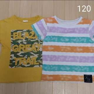 ジーユー(GU)のGU ベルメゾン Tシャツ 120(Tシャツ/カットソー)