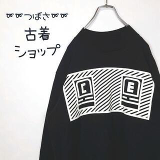 スリーシーイー(3ce)の【入手困難】C.E. ロンT 古着 両面プリント グラフィック sk8 nigo(Tシャツ/カットソー(七分/長袖))