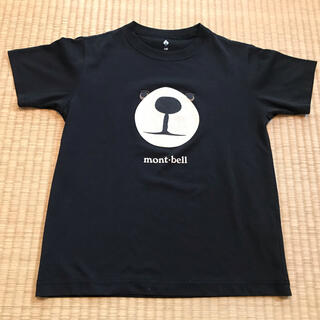 mont bell - モンベルmont-bell★モンタベアTシャツ140黒速乾