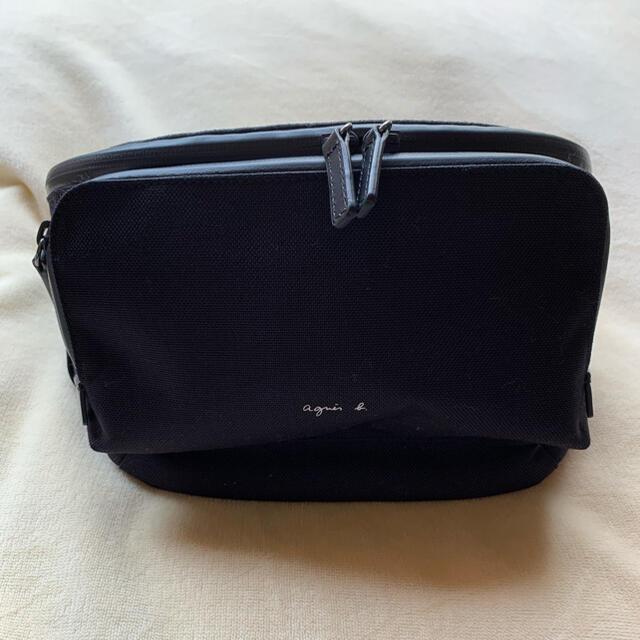 agnes b.(アニエスベー)の(最終値下げ)アニエスベー ナイロンウエストポーチ レディースのバッグ(ボディバッグ/ウエストポーチ)の商品写真