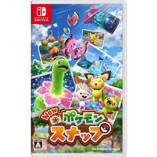 ニンテンドースイッチ(Nintendo Switch)の新品未開封New ポケモンスナップ(携帯用ゲームソフト)