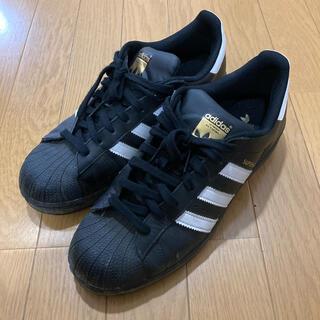 アディダス(adidas)のadidas superstar スーパースター ブラック×ホワイト(スニーカー)