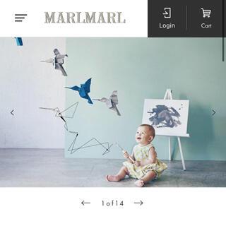 PETIT BATEAU - 【未使用】MARLMARL painter 2 grey gizagiza