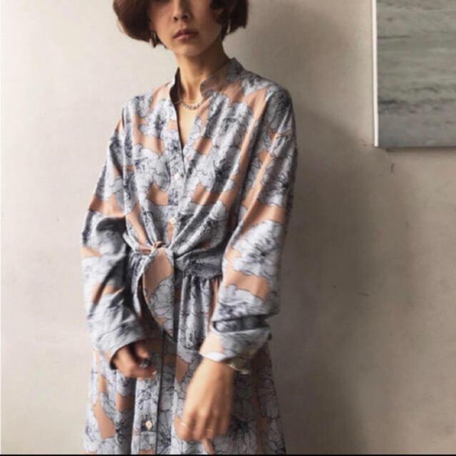 Ameri VINTAGE(アメリヴィンテージ)のAmeri vintage タイシャツ ワンピース レディースのワンピース(ロングワンピース/マキシワンピース)の商品写真