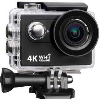 4K Wi-Fi搭載 広角アクションカメラ Gopro 最新型⭐︎(ビデオカメラ)