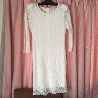 GRL - GRL グレイル ワンピース 総レース ホワイト 白 上品 レディース 洋服