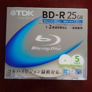 TDK - TDK BD-R 25GB 5枚パック【新品・未使用】