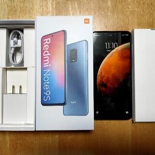 ANDROID - 美品☆Redmi Note9S Glacier White 64G 4G