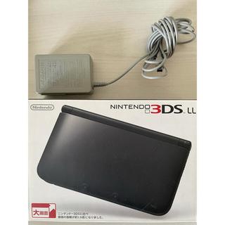 ニンテンドー3DS(ニンテンドー3DS)のNintendo 3DS  LL 本体ブラック(携帯用ゲーム機本体)