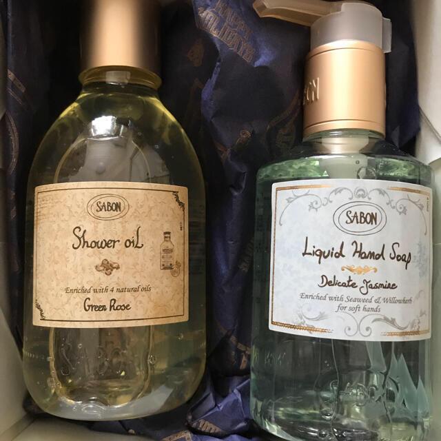 SABON(サボン)の【未使用品】SABON シャワーオイル、ハンドソープ コスメ/美容のボディケア(ボディソープ/石鹸)の商品写真