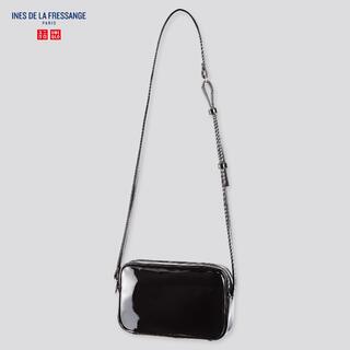 UNIQLO - 新品タグ付き ユニクロ イネス エナメルミニショルダーバッグ
