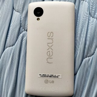 アンドロイド(ANDROID)の美品 Nexus5 16GB ホワイト(スマートフォン本体)