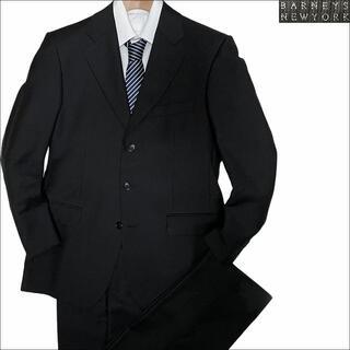 バーニーズニューヨーク(BARNEYS NEW YORK)のJ3568 美品 バーニーズニューヨーク イタリア製 スーツ ブラック 36S(セットアップ)