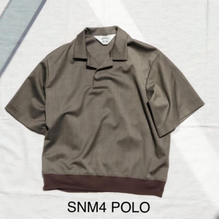 SUNSEA - SUNSEA 20SS SNM4POLOタグ付き美品