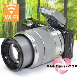 ソニー(SONY)のソニー NEX-5N☆WiFiSDでスマホに転送OK☆簡単操作☆1590(ミラーレス一眼)