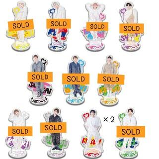 BANDAI - JO1 アクスタ 一番くじ 各450円