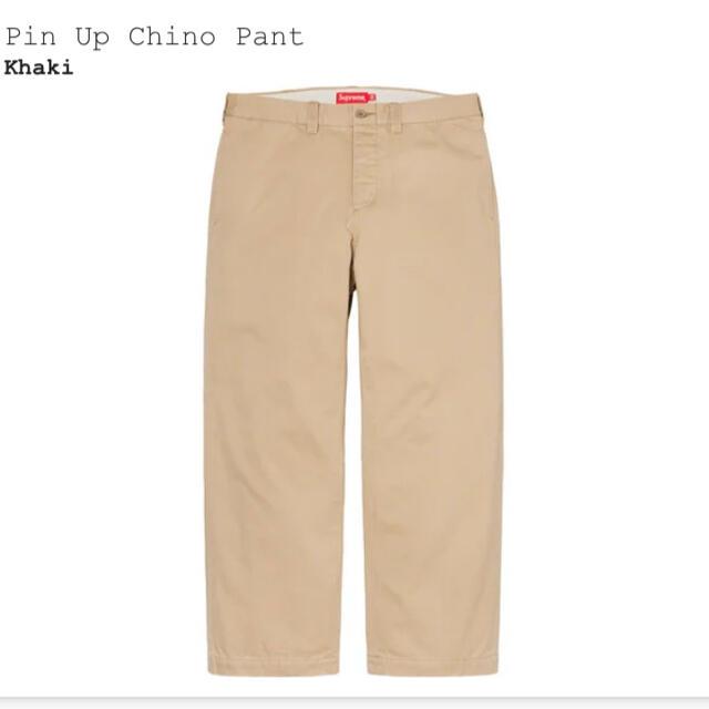 Supreme(シュプリーム)の21ss Supreme Pin Up Chino Pant 32 メンズのパンツ(チノパン)の商品写真