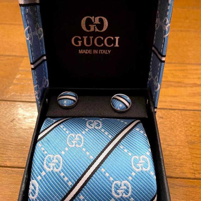 GUCCI  ネクタイセット メンズのファッション小物(ネクタイ)の商品写真