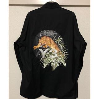 ワイスリー(Y-3)のY-3 18ss レオパード刺繍シャツ(シャツ)