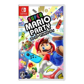 ニンテンドースイッチ(Nintendo Switch)の新品未開封スーパー マリオパーティ(携帯用ゲームソフト)