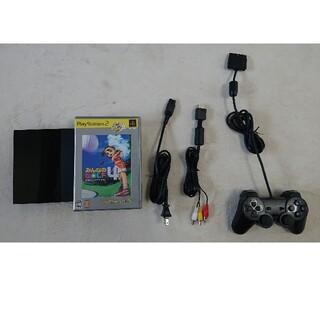 プレイステーション2(PlayStation2)のPS2本体 SCPH90000 動作確認済みおまけ付き(家庭用ゲーム機本体)