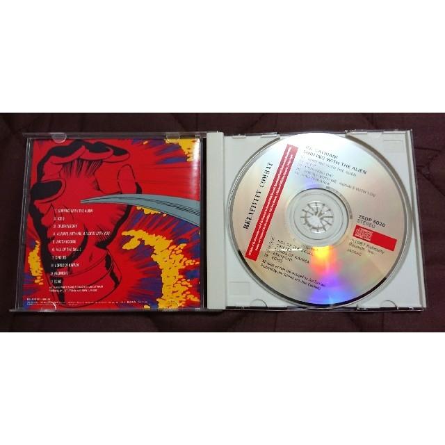JOE SATRIANI「SURFING WITH THE ALIEN」 エンタメ/ホビーのCD(ポップス/ロック(洋楽))の商品写真