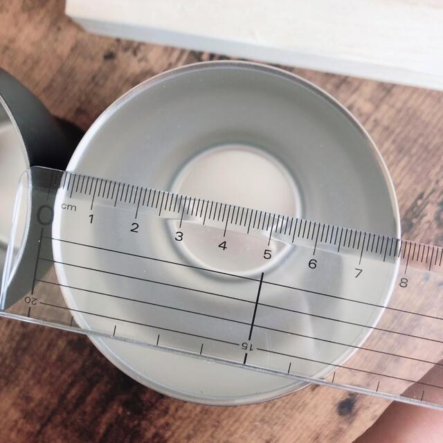 ACTUS(アクタス)のステンレスマグカップ マットブラック黒ペアグラス インテリア/住まい/日用品のキッチン/食器(グラス/カップ)の商品写真