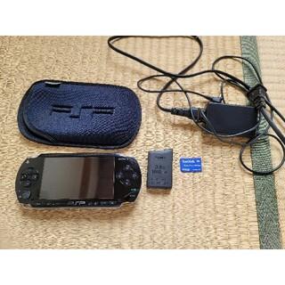 プレイステーションポータブル(PlayStation Portable)のPSP 1000 動作品 ジャンク扱い(携帯用ゲーム機本体)