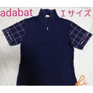 adabat - adabat アダバット ポロシャツ カットソー レディース Iサイズ 1回着用