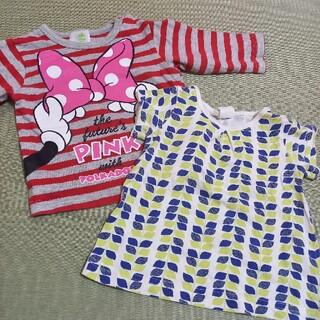 ディズニー(Disney)のディズニー ミニーちゃん ロンT 長袖シャツ 赤ちゃん本舗 Tシャツ(Tシャツ)