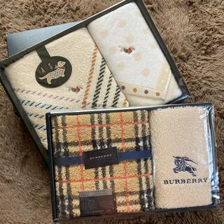 BURBERRY - 【未使用】BURBERRY と DAKS★タオル4点セット