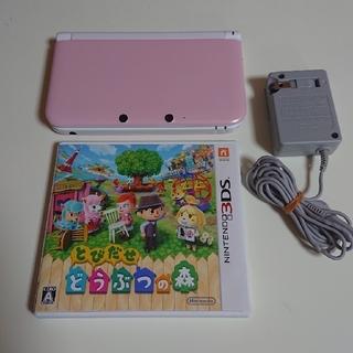 ニンテンドー3DS(ニンテンドー3DS)の3DSLL 本体  3DS とびだせどうぶつの森   3dsll(携帯用ゲーム機本体)