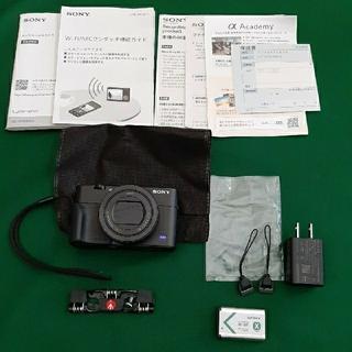ソニー(SONY)のDSC-RX100M5A(コンパクトデジタルカメラ)