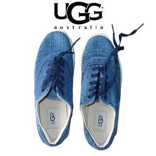 UGG - 【未使用】アグ デニム スニーカー 22 UGG