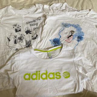 アディダス(adidas)のTシャツ S  3点セット レディース(Tシャツ(半袖/袖なし))