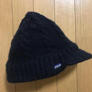 patagonia - ニット帽 パタゴニア ニットキャップ ビーニー ブラック