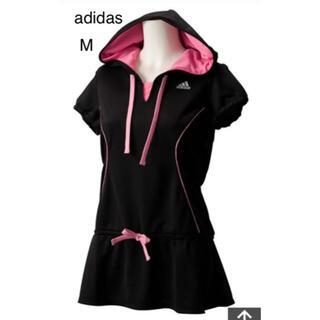 アディダス(adidas)のJG012-X45331 W adiFuture フードチュニック ブラック M(ウェア)