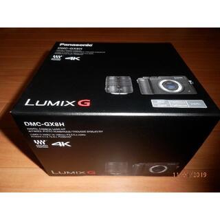 パナソニック(Panasonic)の【長期保証有り】Panasonicパナソニック LUMIX DMC-GX8H-S(ミラーレス一眼)