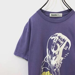 LAUNDRY - 【古着女子】グラフィックTシャツ 一点物 Laundry