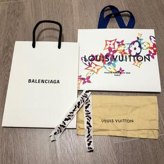 LOUIS VUITTON - LOUIS VUITTONショップ袋・保存袋&BALENCIAGAルブタンセット