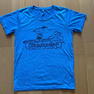 スヌーピー(SNOOPY)のSNOOPY Tシャツ レディースMサイズ(Tシャツ(半袖/袖なし))