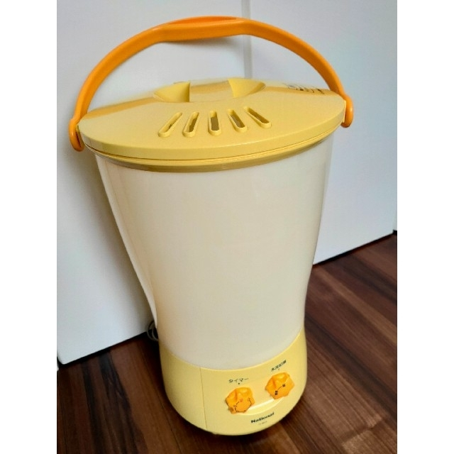 Panasonic(パナソニック)のchisap26様 National 電気バケツ洗濯機 ただのバケツじゃありま洗 スマホ/家電/カメラの生活家電(洗濯機)の商品写真