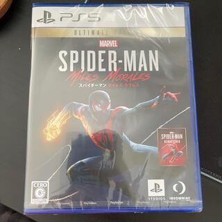 PlayStation - PS5 スパイダーマン マイルズ・モラレス ULTIMATE EDITION