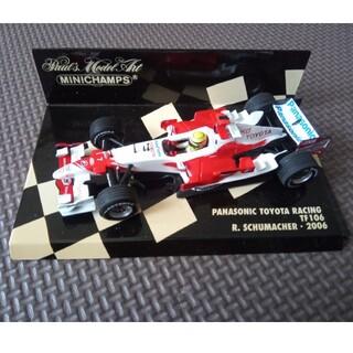 トヨタ(トヨタ)のミニチャンプス 1/43 トヨタ F1 2006 TF106ラルフ・シューマッハ(ミニカー)