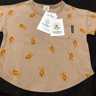 フタフタ(futafuta)の新品タグ付き ティディベア 半袖Tシャツ(Tシャツ/カットソー)