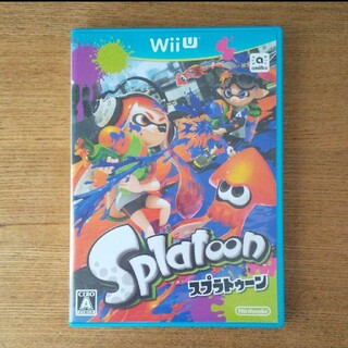 ウィーユー(Wii U)のWiiu Splatoon(スプラトゥーン)(家庭用ゲームソフト)